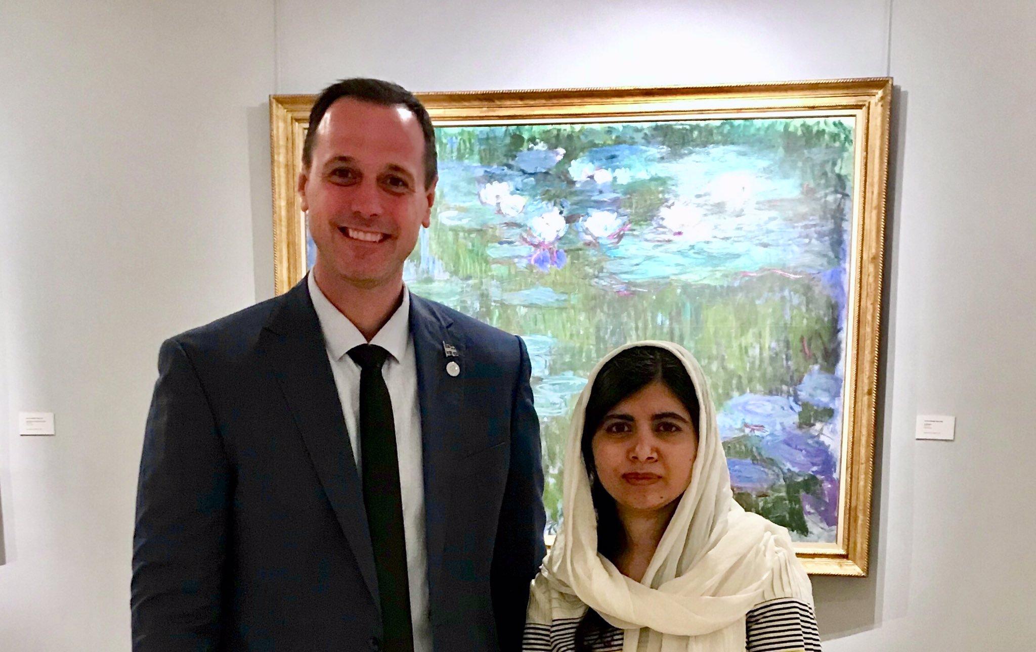 Quebec Education Minister Malala