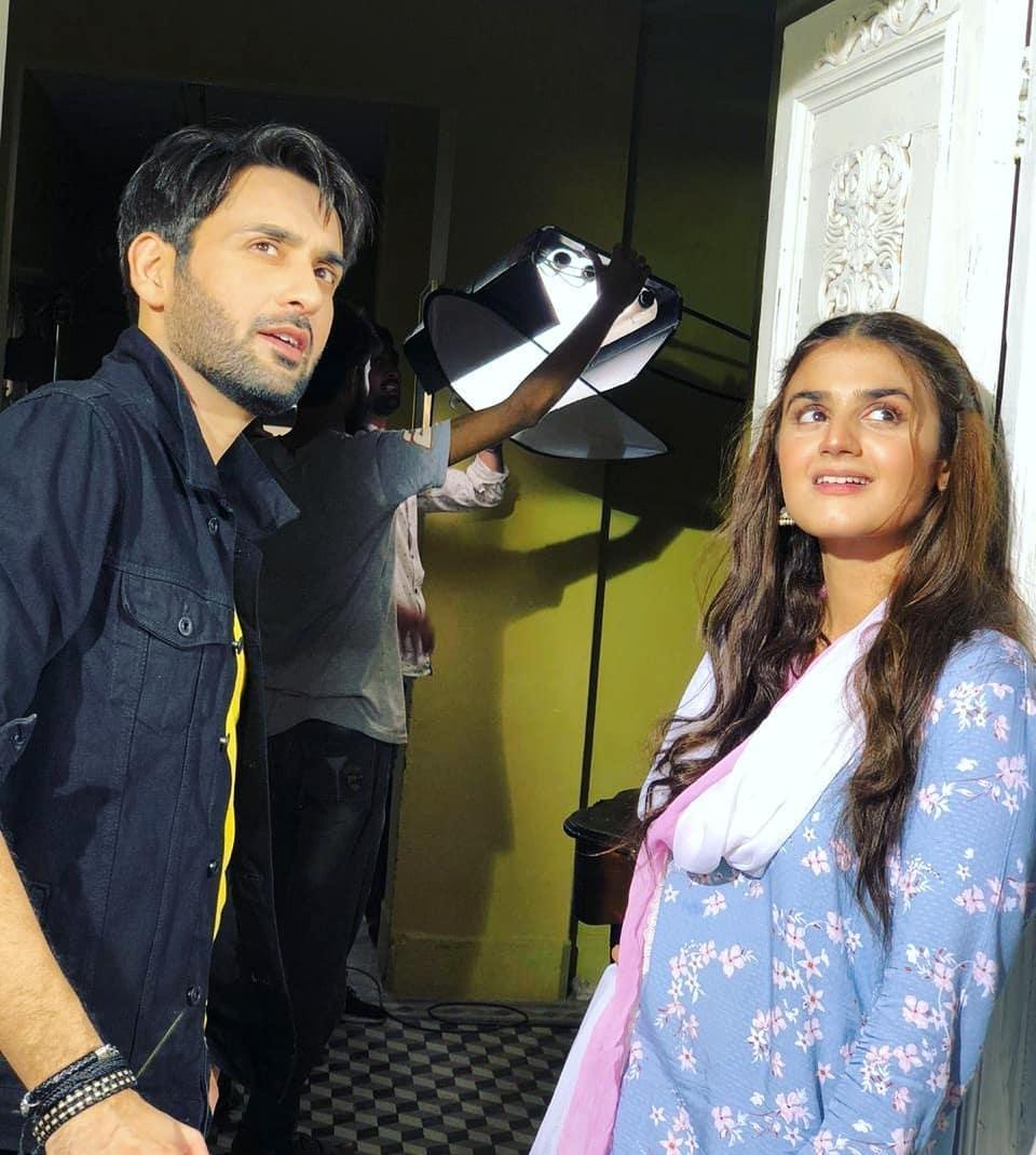 Hira Manin and Affan Waheed drama