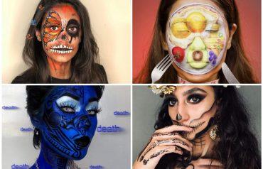 Instagram face art