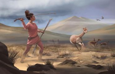 prehistoric female hunter