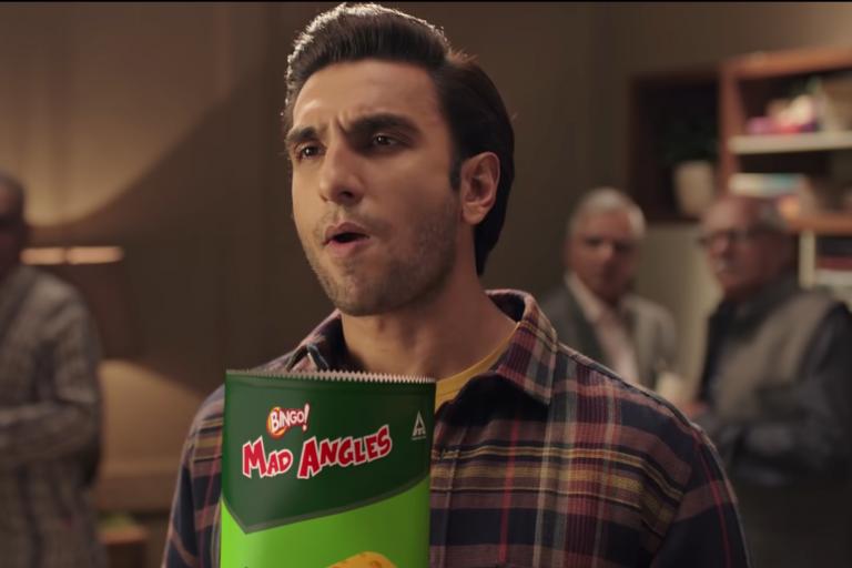 ranveer singh ad