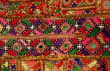 Gaj sindhi embroidery