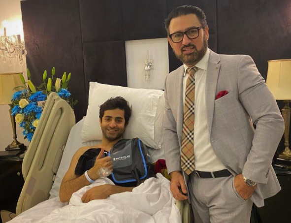 sheheryar munawar surgery