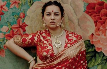 sabyasachi plus size model