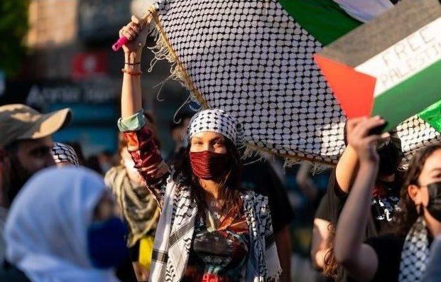 bella hadid palestine