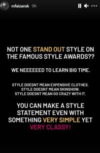 hum style awards