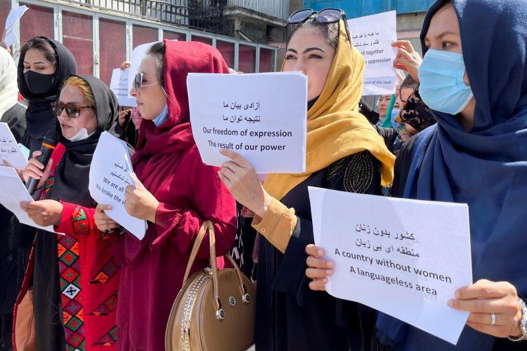 Afghan women Taliban